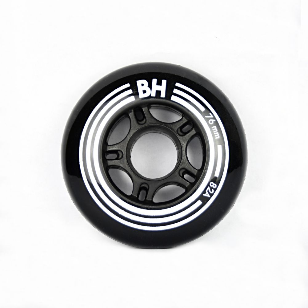 Sada 8 ks in-line koleÄŤek BH Black 76mm/82A (8ks)